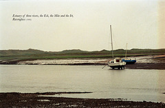Estuary of three rivers, the Esk, the Mite at Ravenglass (Scan from 1993)