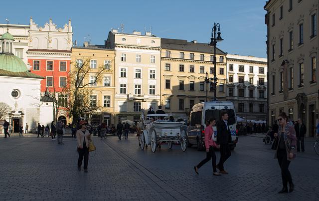 Poland, Krakow Rynek Główny  (#2428)