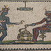 Detail of a Mosaic with an Egyptianizing Scene in the Metropolitan Museum of Art, Jan. 2019