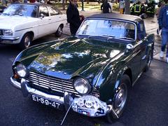 Triumph TR4 (1961).
