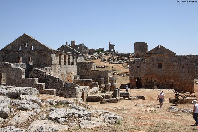 Siria - Serjilla - Città morta Bizantina