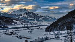Fönstorm over Tyrol