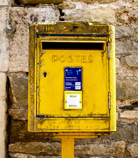 Please, Mr. Postman...