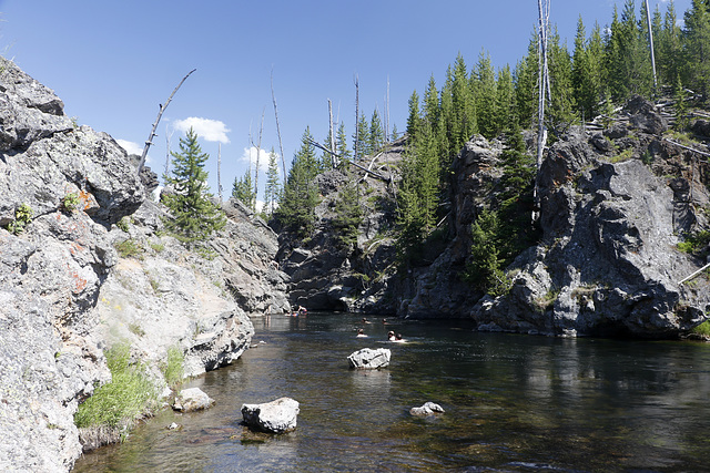 Firehole River Swimming Area