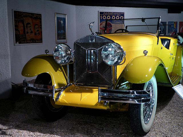 Isotta Fraschini, la vettura di Billy Bis !