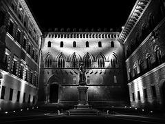 Siena by night