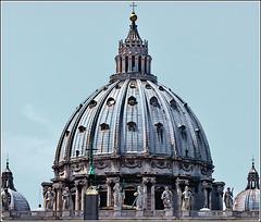 Vaticano : Il Cupolone della Basilica