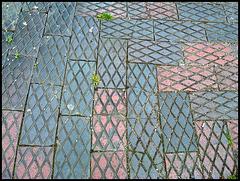 latticed pavement blocks