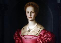 Portrait de Lucrezia Panciatichi . Huile sur bois de Bronzino