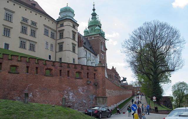 Poland, Krakow Wawel Castle (#2393)