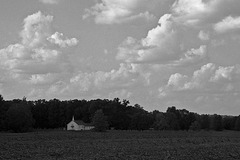 Country Church In The Dell