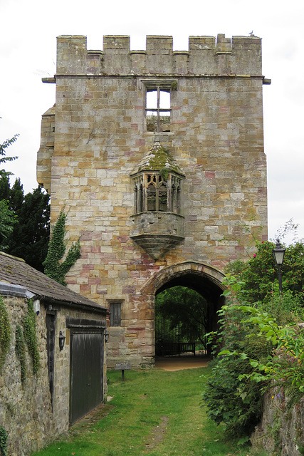 marmion tower, west tanfield, yorkshire