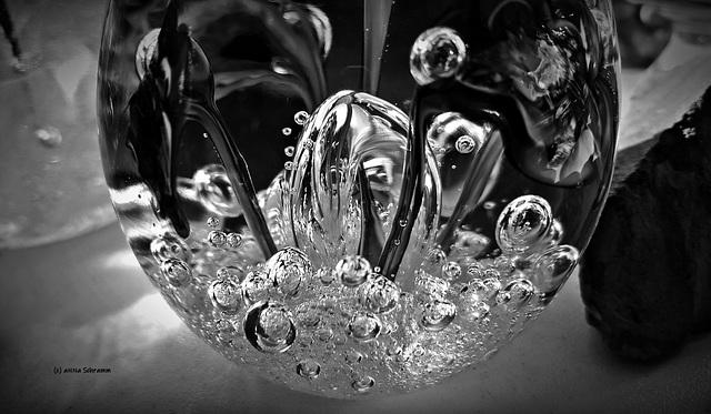 Glas Reflexion