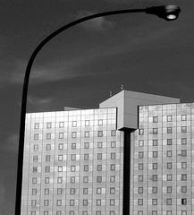 Genova : Starhotel President 5 stars , b/n -