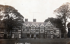 Carden Hall, Cheshire (Burnt and Demolished)
