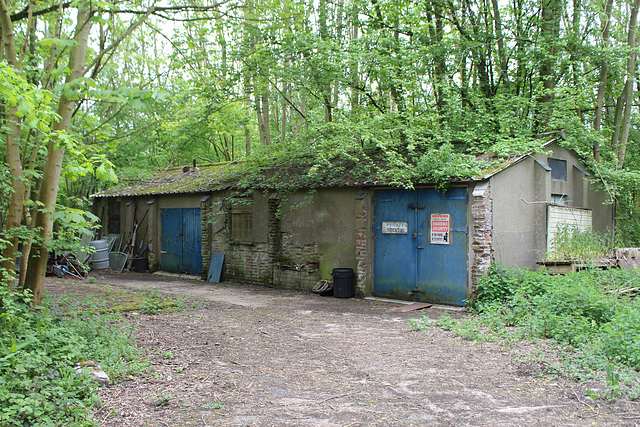 Remains of RAF Base Flixton, Suffolk