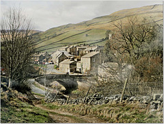 A Swaledale Village