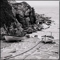 Porthgwarra Boote