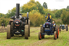 'Sunrise'  and unidentified Fordson