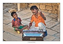 Chanteurs de rue