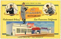 Joe DiMaggio's Restaurant, Fishermen's Wharf, San Francisco, California