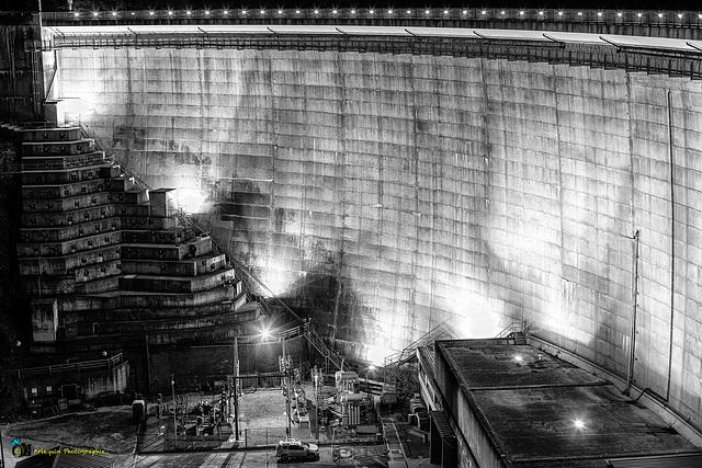 Le barrage d'Esch-sur-Sûre