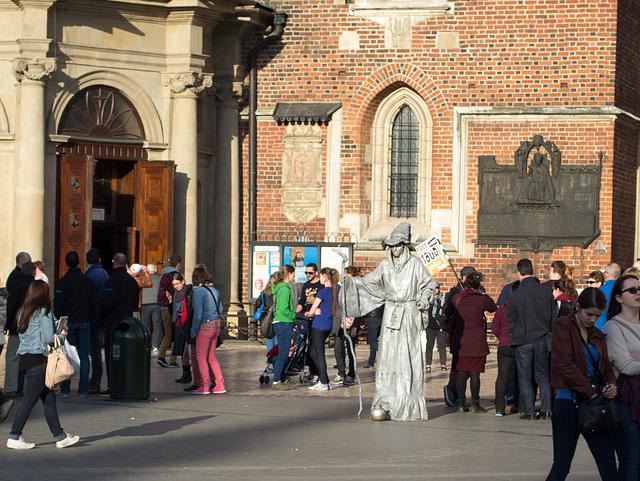 Poland, Krakow Rynek Główny  (#2433)