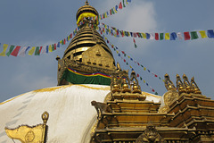 Stupa de Swayambhunath, Kathmandu (Népal)
