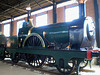 Steam locomotive of the royal train (1862).