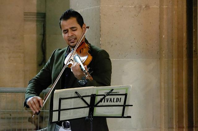 Vivaldi au Louvre