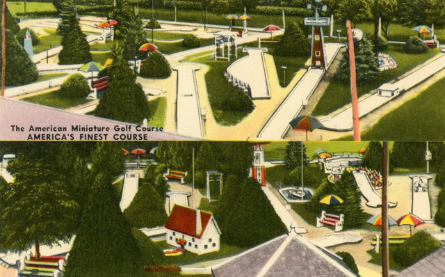 The American Miniature Golf Course, America's Finest Course, Leola, Pa.