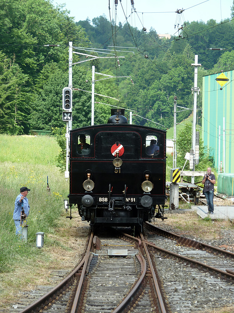 Ed 3/4 Nr. 51 ehemals Bern Schwarzenburg Bahn