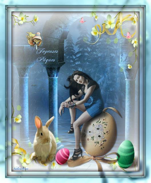 Belle fin de semaine et Joyeuses Pâques à toutes et à tous !