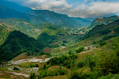 Landscape from Sa Pa valley