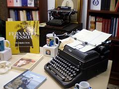 Basement of bookshop Ferin.