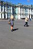 Le musée d'État de l'Ermitage à St Petersbourg (Russie)