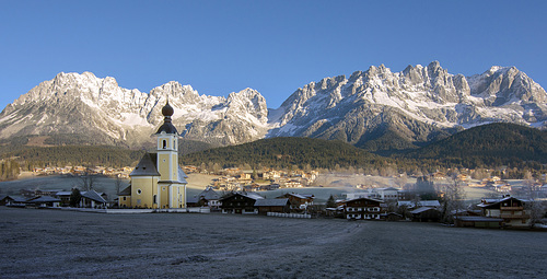 The 'Kaiser Mountains' in Tyrol