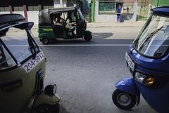 World of rickshaws