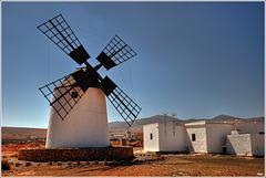 Fuerteventura - windmill at La Oliva ¦ pilago