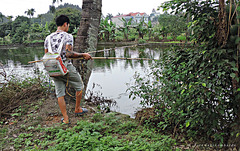 electric fishing in Vietnam
