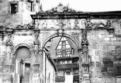 Am Domplatz in Bamberg