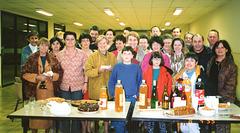 Répétition et pot à Bombon 15/11/1996