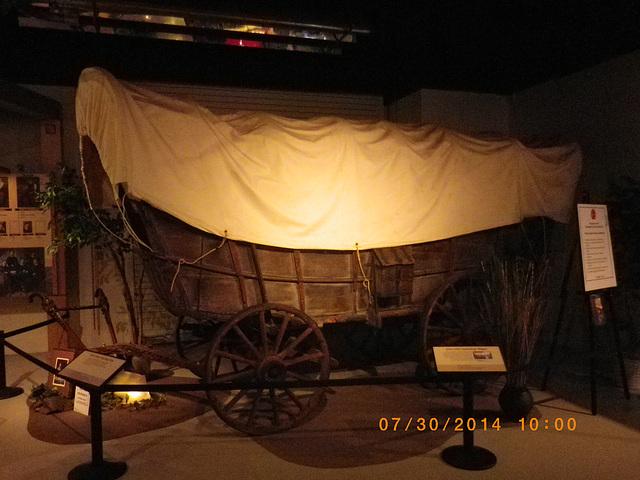 Studebaker covered wagon