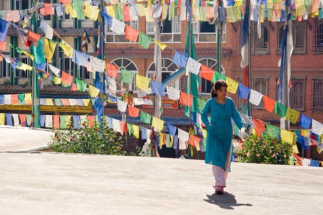 Le Népal en prières