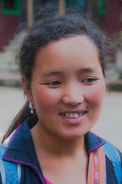 Yao girl Lin