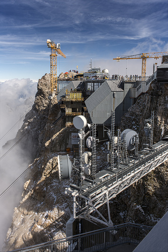 2962m - The Highest Construction Site of Germany