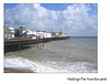 Hastings pier from west - 20.7.2007