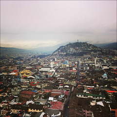 Roofs of Quito.