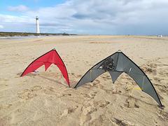 Venom kites on Morro Jable beach, Fuerteventura 2018