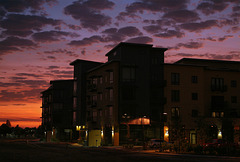 Crescent Village Sunset